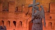 Rzeźba na moście św. Anioła w Rzymie