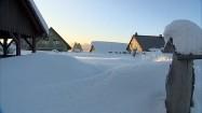 Ośnieżona wieś Laliki