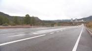 Droga i elektrownia atomowa Cofrentes w Hiszpanii