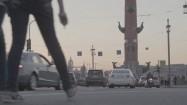Ruch uliczny w Sankt Petersburgu