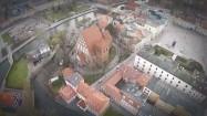 Katedra św. Marcina i Mikołaja w Bydgoszczy z lotu ptaka