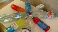 Plastikowe butelki - ułożenie koncentryczne