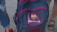 Ważenie szkolnego plecaka