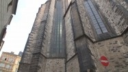 Kościół Najświętszej Marii Panny przed Tynem w Pradze - widok z tyłu