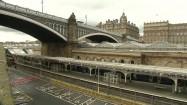 Dworzec kolejowy w Edynburgu