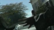 Człowiek machający rękami