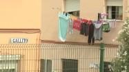 Suszące się ubrania