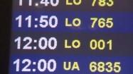 Godziny odlotów samolotów