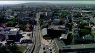 Gmach Opery Krakowskiej z lotu ptaka