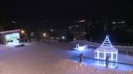 Zimowe iluminacje w Zakopanem