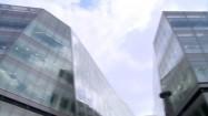 Przeszklone budynki w Londynie