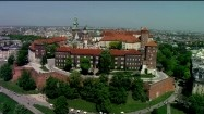 Panorama Krakowa ze Wzgórzem Wawelskim