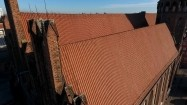 Dach bazyliki św. Mikołaja w Gdańsku