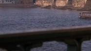 Rzeka Wełtawa w Pradze