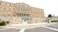 Gmach greckiego parlamentu w Atenach