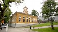 Drewniany ratusz w miejscowości Lappeenranta