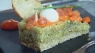 Kuchnia molekularna - gotowa potrawa