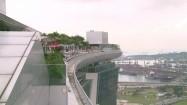 Hotel Marina Bay Sands - drzewa na dachu