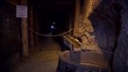 Korytarz w kopalni soli w Wieliczce