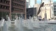 Fontanna i rzeźba Chicago Picasso