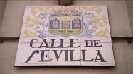 """Tabliczka """"Calle de Sevilla"""""""
