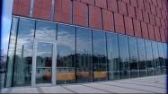 Biblioteka akademicka w Katowicach - wejście