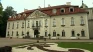 Parter ogrodowy przed pałacem w Nieborowie