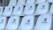 Trybuny na stadionie