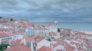 Panorama Lizbony - dzielnica Alfama