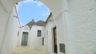 Kamienne domki trulli w Alberobello