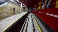Metro - wjazd do tunelu