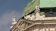 Pałac Belwederski w Wiedniu - dach
