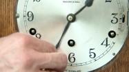 Przesuwanie wskazówek zegara