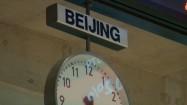Zegar na Giełdzie Papierów Wartościowych w Warszawie