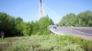 Most Świętokrzyski i panorama Warszawy