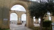 Upper Barrakka Gardens w Valletcie na Malcie