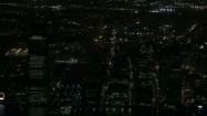 Nowy Jork widziany z okna One World Trade Center w Nowym Jorku