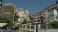Ulica i zabudowania w Monako