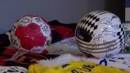 Autografy na piłkach