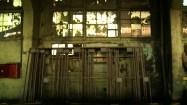 Opustoszały budynek huty