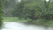 Kostaryka - opady deszczu