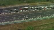 Korek samochodowy na autostradzie A1