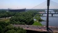 Most Świętokrzyski i Stadion Narodowy w Warszawie
