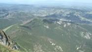 Panorama Tatr latem