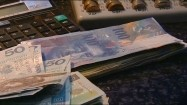 Pieniądze w kantorze