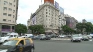Skrzyżowanie ulic w Buenos Aires