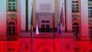 Wejście do gmachu Kancelarii Prezesa Rady Ministrów