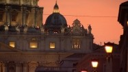 Fasada Bazyliki św. Piotra - zegar