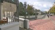 Ministerstwo Obrony Narodowej - brama wjazdowa