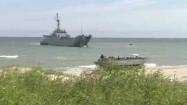 Amfibia i okręt wojenny